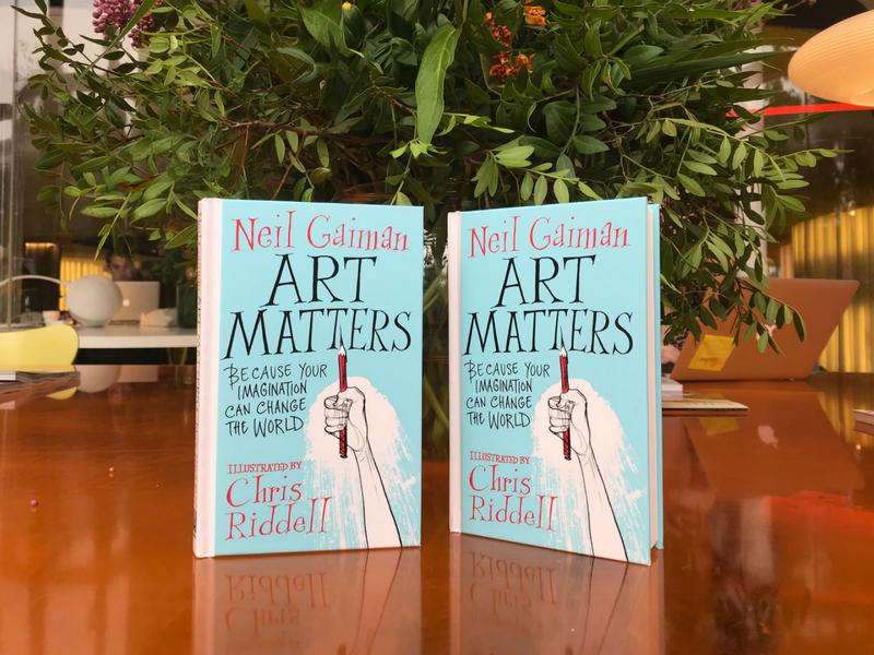 Header art matters